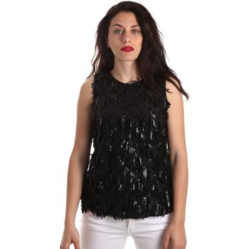 Textiel Dames Tops / Blousjes Fracomina FR19SP533 Zwart