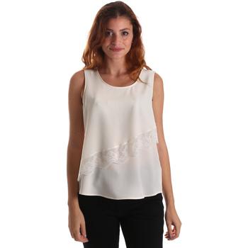 Textiel Dames Tops / Blousjes Liu Jo W69236 T8552 Wit