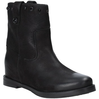 Schoenen Dames Enkellaarzen Apepazza 9FRSB01 Zwart