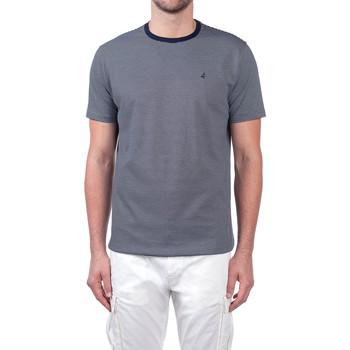Textiel Heren T-shirts korte mouwen Navigare NV70031 Blauw