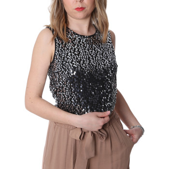 Textiel Dames Tops / Blousjes Fracomina FR20SP634 Zwart