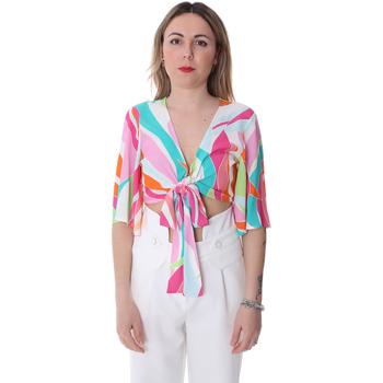 Textiel Dames Tops / Blousjes Fracomina FR20SP519 Wit