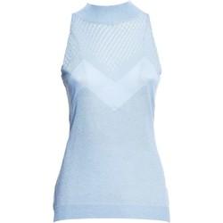 Textiel Dames Tops / Blousjes Fracomina FR20SM812 Blauw