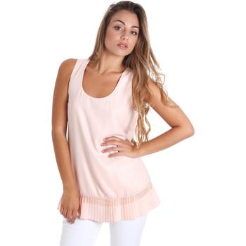 Textiel Dames Tops / Blousjes Fracomina FR20SM014 Roze