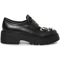 Schoenen Dames Mocassins Steve Madden SMSMALVERNC-BLKWHT Zwart