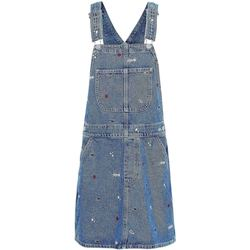 Textiel Dames Jumpsuites / Tuinbroeken Tommy Jeans DW0DW08644 Blauw
