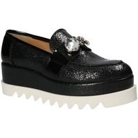 Schoenen Dames Mocassins Grace Shoes 1312 Zwart