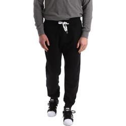 Textiel Heren Trainingsbroeken Key Up 2F37I 0001 Zwart