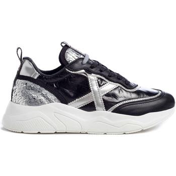 Schoenen Dames Lage sneakers Munich 8770038 Zwart