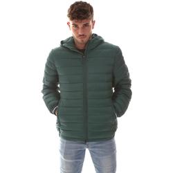 Textiel Heren Dons gevoerde jassen Navigare NV67073 Groen