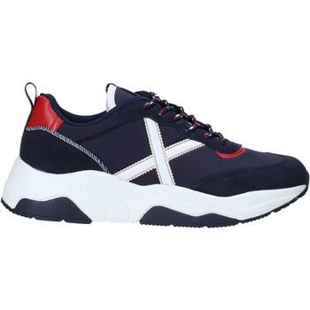 Schoenen Heren Lage sneakers Munich 8770033 Blauw
