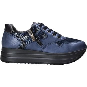 Schoenen Dames Lage sneakers IgI&CO 6166211 Blauw