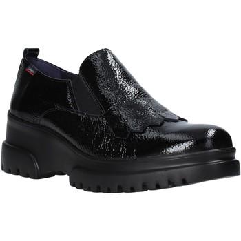 Schoenen Dames Mocassins CallagHan 27206 Zwart