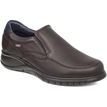Schoenen Heren Mocassins CallagHan 12701 Bruin