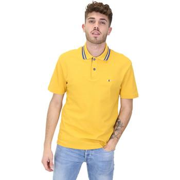 Textiel Heren Polo's korte mouwen Les Copains 9U9022 Geel
