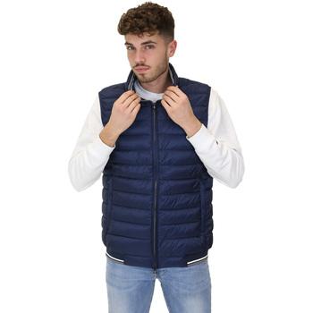 Textiel Heren Dons gevoerde jassen Navigare NV66017 Blauw