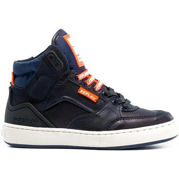 Schoenen Kinderen Hoge sneakers Replay GBZ19 201 C0021S Blauw