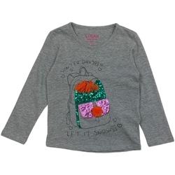 Textiel Meisjes T-shirts met lange mouwen Losan 026-1201AL Grijs