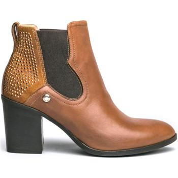 Schoenen Dames Laarzen NeroGiardini I013071D Bruin