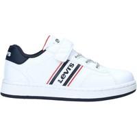 Schoenen Kinderen Lage sneakers Levi's VADS0040S Wit