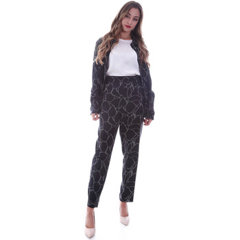Textiel Dames Chino's Calvin Klein Jeans K20K202125 Zwart