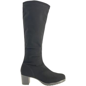Schoenen Dames Hoge laarzen Susimoda 825481 Zwart