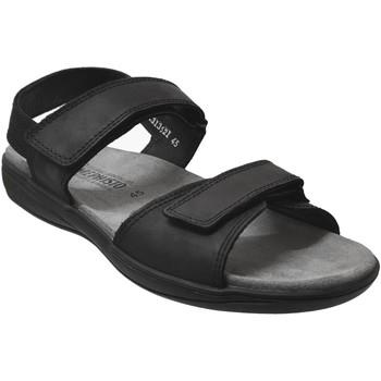 Schoenen Heren Sandalen / Open schoenen Mephisto SIMON Zwart leer