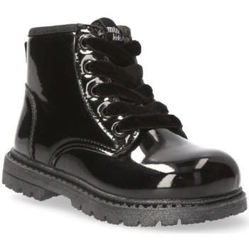 Schoenen Meisjes Enkellaarzen Mustang Kids 54218 zwart