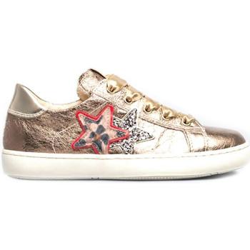 Schoenen Kinderen Lage sneakers NeroGiardini I031700F Goud