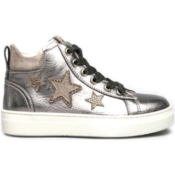 Schoenen Meisjes Hoge sneakers NeroGiardini I031713F Zilver