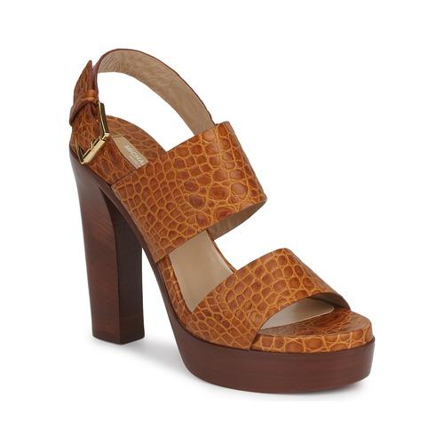 Schoenen Dames Sandalen / Open schoenen Michael Kors MATISSE LUX Bruin