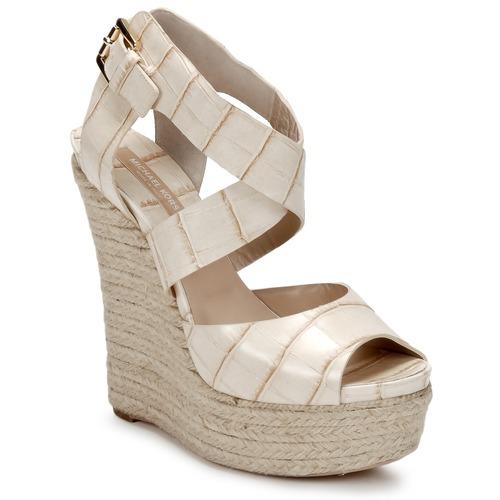 Schoenen Dames Sandalen / Open schoenen Michael Kors STAMPA IBRAHIM Creme