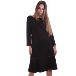 Textiel Dames Korte jurken Calvin Klein Jeans K20K202271 Zwart