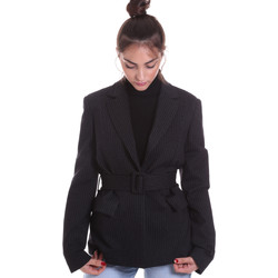 Textiel Dames Jasjes / Blazers Fracomina F120W07022W040D4 Zwart