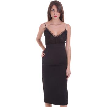 Textiel Dames Korte jurken Pinko 1B13BB 7210 Zwart