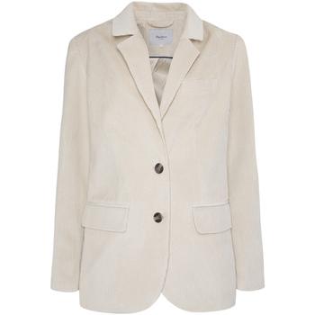 Textiel Dames Jasjes / Blazers Pepe jeans PL401855 Beige