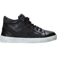 Schoenen Kinderen Hoge sneakers Grunland PO1499 Zwart