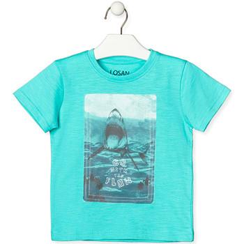 Textiel Kinderen T-shirts korte mouwen Losan 015-1018AL Groen