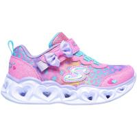 Schoenen Kinderen Lage sneakers Skechers 302088N Roze