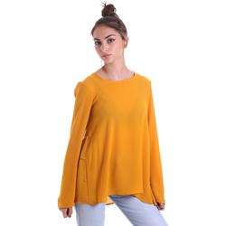 Textiel Dames Tops / Blousjes Fracomina F120W19008W00401 Geel