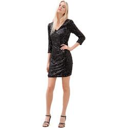 Textiel Dames Korte jurken Fracomina F120W14034W01985 Zwart