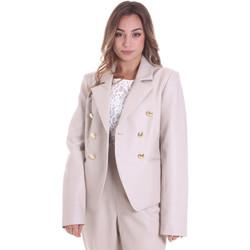 Textiel Dames Jasjes / Blazers Fracomina F120W07023E00701 Beige