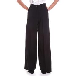 Textiel Dames Losse broeken / Harembroeken Fracomina F120W10069W05301 Zwart