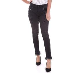 Textiel Dames Skinny jeans Fracomina F120W10002D00304 Zwart