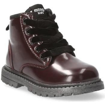 Schoenen Meisjes Laarzen Mustang Kids 54219 rood
