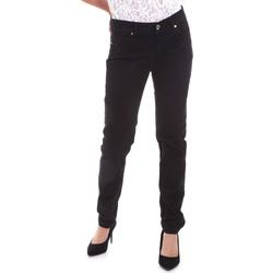 Textiel Dames 5 zakken broeken Gaudi 821BD25025 Zwart