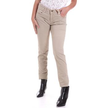 Textiel Dames 5 zakken broeken Gaudi 821BD25025 Beige