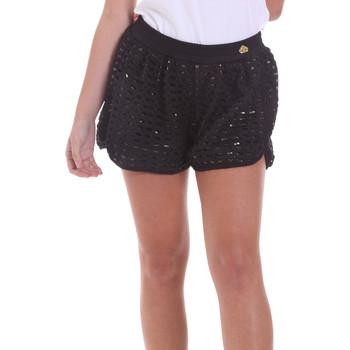 Textiel Dames Korte broeken / Bermuda's Fornarina BE171M03H26400 Zwart