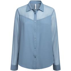 Textiel Dames Overhemden Pepe jeans PL303835 Blauw
