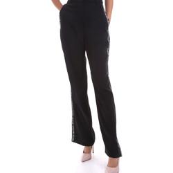 Textiel Dames Losse broeken / Harembroeken Calvin Klein Jeans J20J214905 Zwart